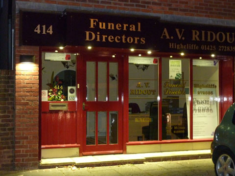 Commercial Electrical Work - Funeral Directors Hampshire