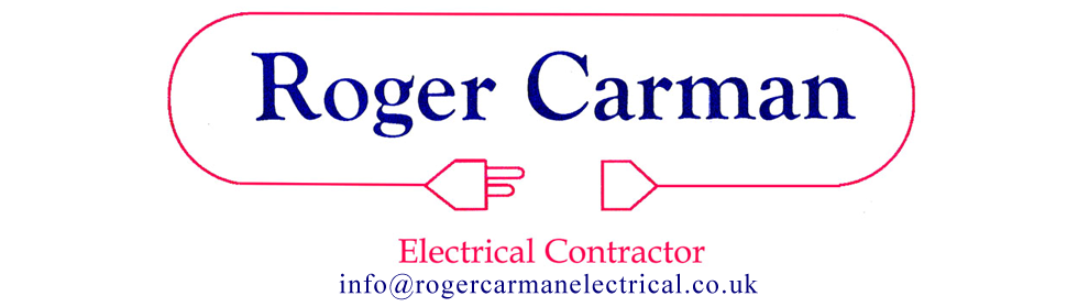 Roger Carman Electrical Contractor logo - Electrician in Bournemouth and Southampton